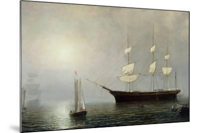 The Ship Starlight, C.1860-Fitz Henry Lane-Mounted Giclee Print