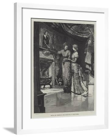 They Were Married-Francis S. Walker-Framed Giclee Print