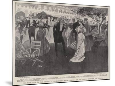 The First Ball of the Season at Government House, Sydney, in the Garden Between the Dances-Frank Craig-Mounted Giclee Print