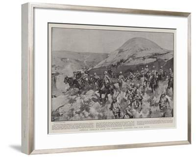 General French's Dash for Kimberley, Crossing the Riet River-Frank Craig-Framed Giclee Print
