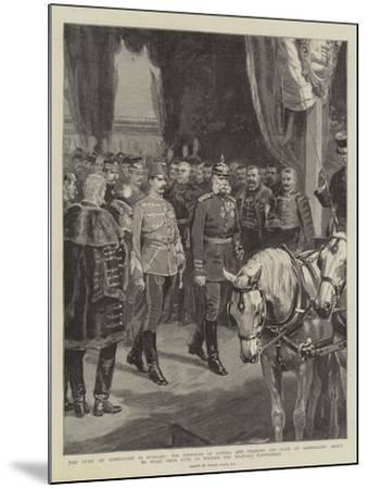 The Duke of Connaught in Hungary-Frank Dadd-Mounted Giclee Print