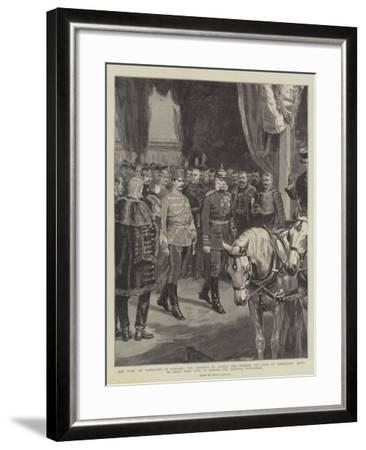 The Duke of Connaught in Hungary-Frank Dadd-Framed Giclee Print