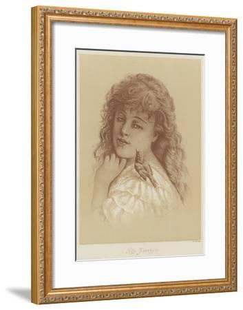 The Favorite-Florence Claxton-Framed Giclee Print