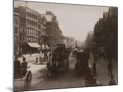 Holborn, London-Francis G. O. Stuart-Mounted Photographic Print