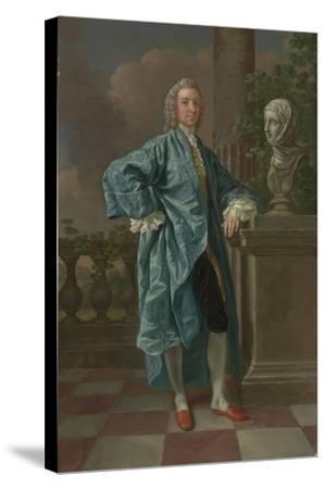 Dr Charles Chauncey, M.D. (1706-77) 1747-Francis Hayman-Stretched Canvas Print