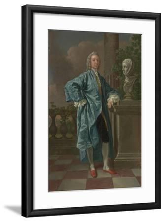 Dr Charles Chauncey, M.D. (1706-77) 1747-Francis Hayman-Framed Giclee Print