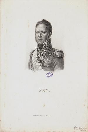 Portrait of Marshal Michel Ney, 1814-Francois Pascal Simon Gerard-Stretched Canvas Print