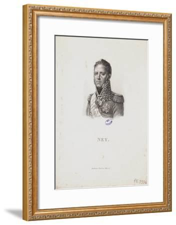 Portrait of Marshal Michel Ney, 1814-Francois Pascal Simon Gerard-Framed Giclee Print
