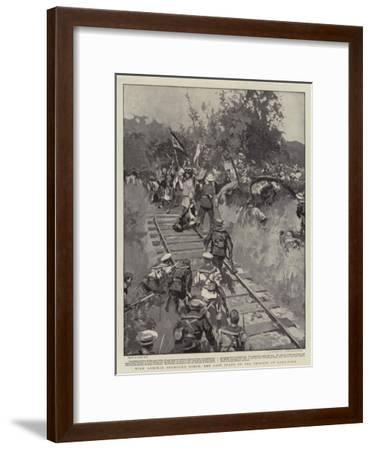 With Admiral Seymour's Force, the Last Stand of the Chinese at Lang-Fang-Frank Craig-Framed Giclee Print