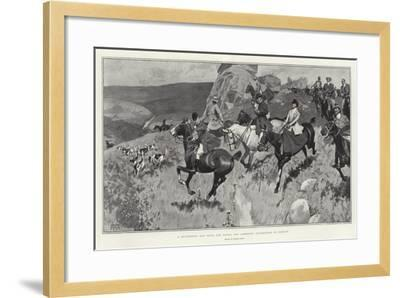 A Successful Day with the Devon and Somerset Staghounds on Exmoor-Frank Craig-Framed Giclee Print