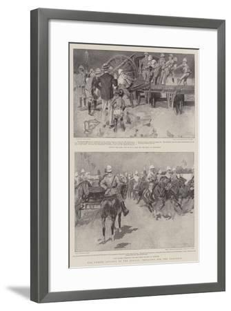 The Coming Advance in the Soudan, Preparing for the Campaign-Frank Craig-Framed Giclee Print