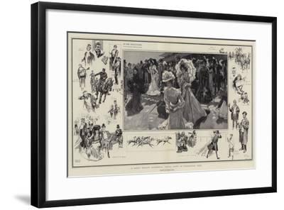 A Great Society Gathering, Royal Ascot in Coronation Year-Frank Craig-Framed Giclee Print