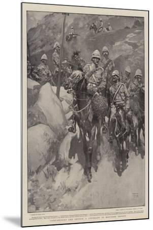 Comparisons are Odious, a Contrast in Mounted Troops-Frank Craig-Mounted Giclee Print