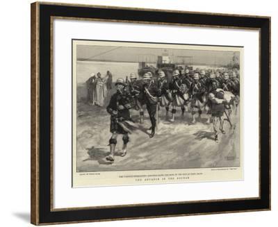 The Advance in the Soudan-Frank Craig-Framed Giclee Print