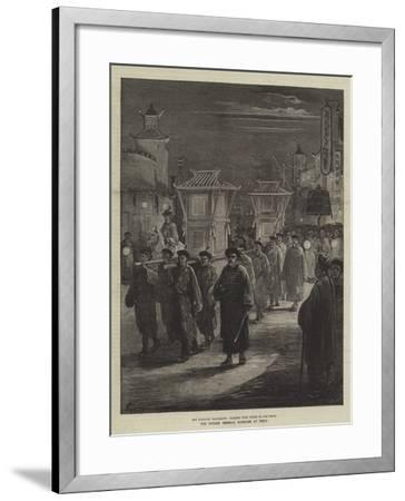 The Chinese Imperial Marriage at Pekin-Felix Regamey-Framed Giclee Print