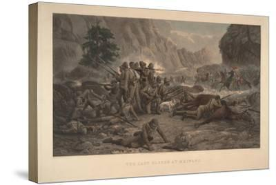 The Last Eleven at Maiwand, 1884-Frank Feller-Stretched Canvas Print