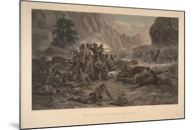 The Last Eleven at Maiwand, 1884-Frank Feller-Mounted Giclee Print