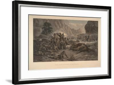 The Last Eleven at Maiwand, 1884-Frank Feller-Framed Giclee Print