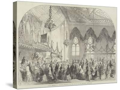 Fancy Fair in the Pavilion, Brighton, for the Benefit of the Brighton Dispensary-Frank Watkins-Stretched Canvas Print
