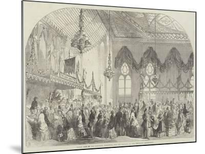 Fancy Fair in the Pavilion, Brighton, for the Benefit of the Brighton Dispensary-Frank Watkins-Mounted Giclee Print
