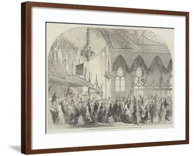 Fancy Fair in the Pavilion, Brighton, for the Benefit of the Brighton Dispensary-Frank Watkins-Framed Giclee Print