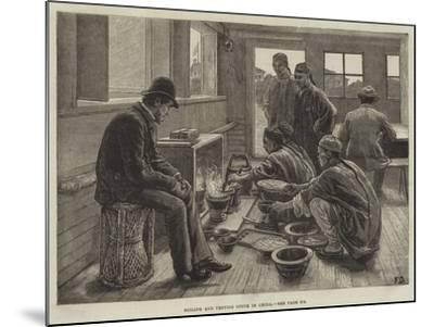 Boiling and Testing Opium in China-Frank Dadd-Mounted Giclee Print