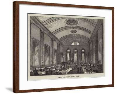 Great Hall of the Temple Club-Frank Watkins-Framed Giclee Print