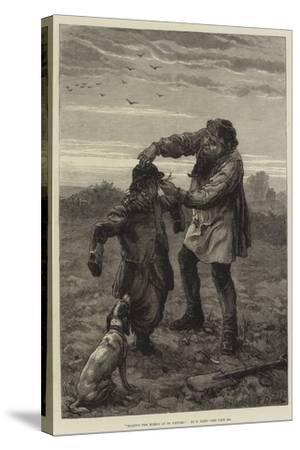 Holding the Mirror Up to Nature-Frank Dadd-Stretched Canvas Print