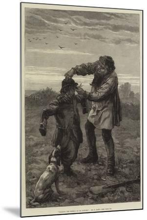 Holding the Mirror Up to Nature-Frank Dadd-Mounted Giclee Print