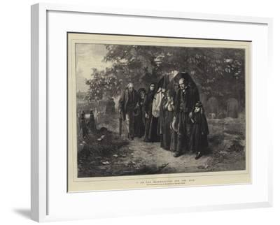 I Am the Resurrection and the Life-Frank Holl-Framed Giclee Print