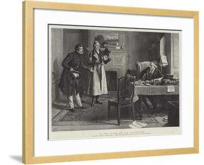 In the Hands of the Philistines-Frank Dadd-Framed Giclee Print