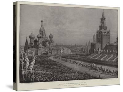 The Czar's Coronation in Moscow-Frank Dadd-Stretched Canvas Print