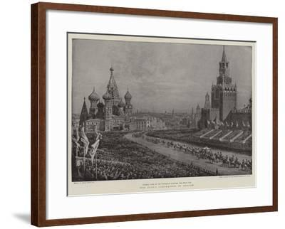 The Czar's Coronation in Moscow-Frank Dadd-Framed Giclee Print