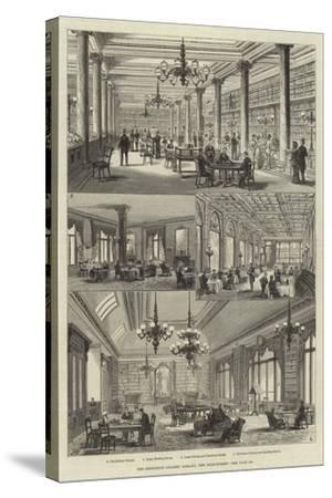 The Grosvenor Gallery Library, New Bond-Street-Frank Watkins-Stretched Canvas Print