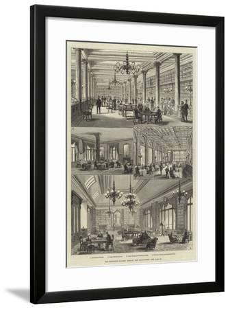 The Grosvenor Gallery Library, New Bond-Street-Frank Watkins-Framed Giclee Print