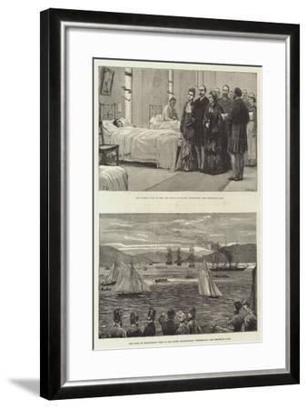 Royal Visit to Scotland-Frank Dadd-Framed Giclee Print