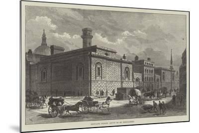 Newgate Prison, About to Be Demolished-Frank Watkins-Mounted Giclee Print