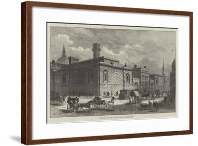 Newgate Prison, About to Be Demolished-Frank Watkins-Framed Giclee Print