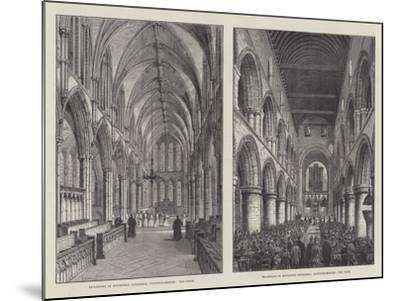Southwell Cathedral-Frank Watkins-Mounted Giclee Print