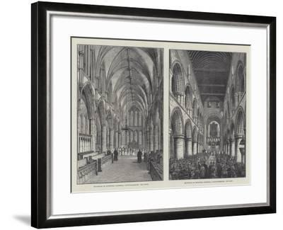 Southwell Cathedral-Frank Watkins-Framed Giclee Print