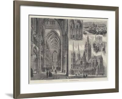 Truro Cathedral-Frank Watkins-Framed Giclee Print