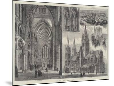 Truro Cathedral-Frank Watkins-Mounted Giclee Print