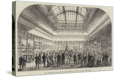 New Gallery of the Institute of Painters in Water Colours, Piccadilly-Frank Watkins-Stretched Canvas Print