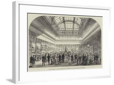 New Gallery of the Institute of Painters in Water Colours, Piccadilly-Frank Watkins-Framed Giclee Print