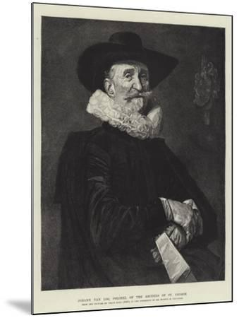 Johann Van Loo, Colonel of the Archers of St George-Frans Hals-Mounted Giclee Print