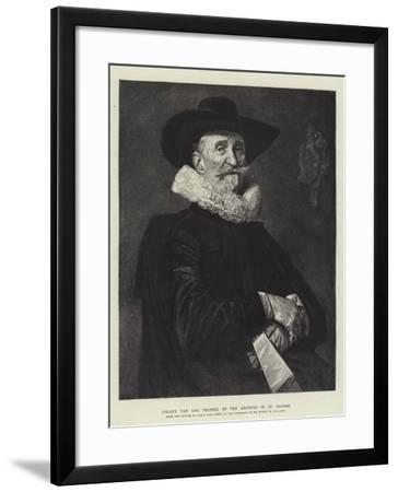 Johann Van Loo, Colonel of the Archers of St George-Frans Hals-Framed Giclee Print