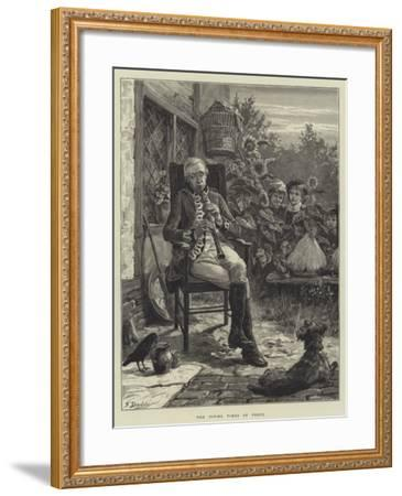 The Piping Times of Peace-Frank Dadd-Framed Giclee Print
