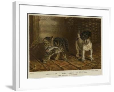 Possession Is Nine Points of the Law-Frank Paton-Framed Giclee Print