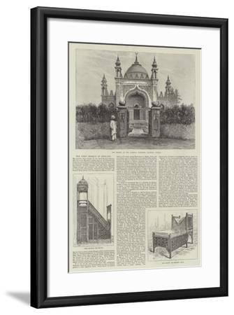 The First Mosque in England-Frank Watkins-Framed Giclee Print