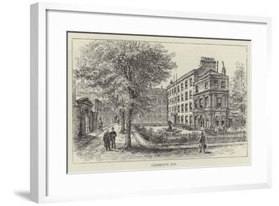 Clement's Inn-Frank Watkins-Framed Giclee Print